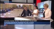 """""""On peut être de gauche et de bon sens"""" : petit pic d'Emmanuel Macron envers le PS"""