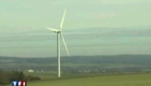 Un village privé de télévision par les éoliennes