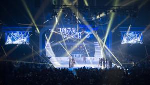 Danse avec les Stars a Bercy, le 19 décembre 2013.
