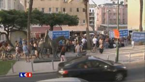 En Israël des Israéliens se battent pour la reconnaissance d'un Etat Palestinien.