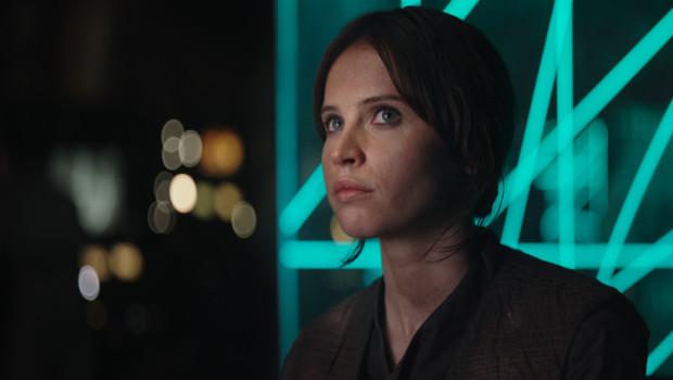 Star Wars Rogue One Felicity Jones