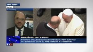 Visite du pape François : le président du Parlement européen recadre Jean-Luc Mélenchon