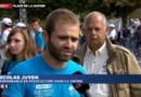 """Xavier Beulin, hué par les agriculteurs place de la Nation : """"On le siffle, c'est normal"""""""