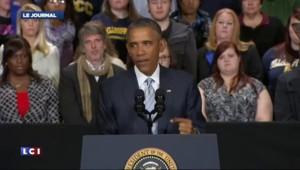 """Attentats à Paris : """"Nous pleurons avec vous, nous nous battons à vos côtés"""", dit Obama"""