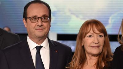 François Hollande et Joëlle Madiavilla.