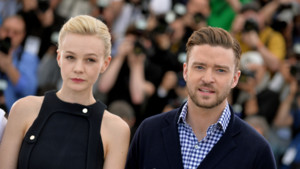 Justin Timberlake et Carey Mulligan posent lors du photocall  Cannes, le 19 mai 2013.