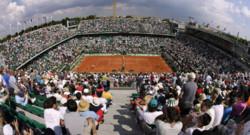 Le court Philippe Chatrier à Roland-Garros