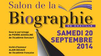 Salon biographie Chaville affiche