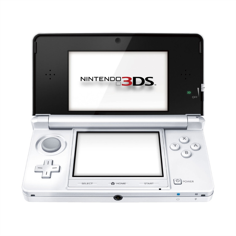 3DS - ice white