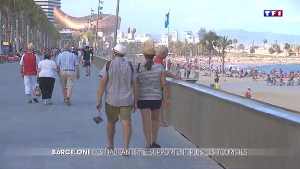 Barcelone dit stop aux touristes