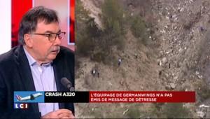 """Crash dans les Alpes : un spécialiste s'interroge sur """"les 8 minutes de black-out"""""""