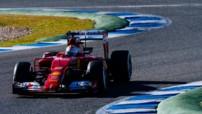 F1 2015 - Essais hivernaux Jerez - Sebastian Vettel