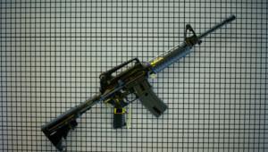 Illustration, un fusil d'assaut M4
