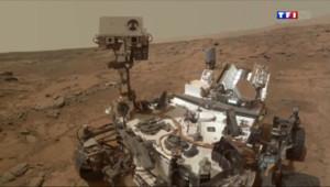 Le 13 heures du 29 juin 2014 : Curiosity f� sa premi� ann�martienne sur la plan� rouge - 1347.7869999999998