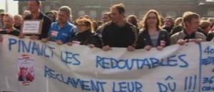 Manif La Redoute