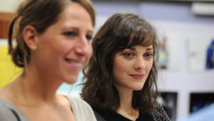 Marion Cotillard et Maud Fontenoy en 2010