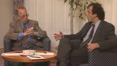 Michel Platini se retire en tant qu'entraîneur équipe de France 1992, interview par thierry roland