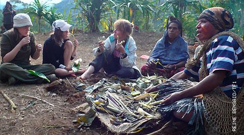 Bienvenue dans ma tribu - Tribu Hulis Papouasie