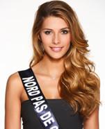 Camille Cerf, Miss Nord Pas de Calais 2014, prétendante au titre de Miss France 2015