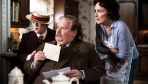 L'acteur Richard Griffiths dans le film Harry Potter à l'école des sorciers