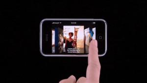 L'iphone d'Apple est aussi un iPod