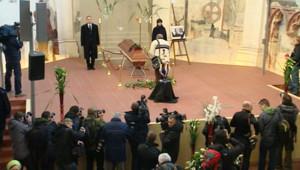 Le cercueil de Vaclav Havel, le 23 décembre 2011.