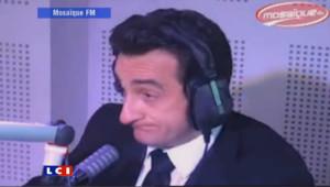 Michel Guidoni, sosie de Nicolas Sarkozy, a été invité par la radio tunisienne Mosaïque FM dans le cadre du Festival du rire. Le 17 mai 2011.