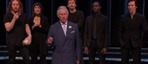 """To be or not to be"" : le prince Charles sur scène pour reciter Hamlet"
