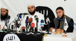 Tunisie : confrence de presse du groupe salafiste Ansar Ashriaa, 16/5/13