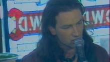 U2 en concert le 3 juillet 1987, interview du groupe, bono vox