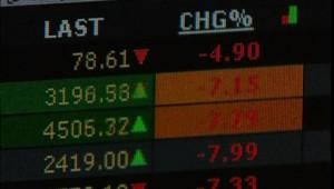 bourse crise financière financiers traders CAC wall street économie