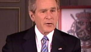 Bush Bruxelles discours