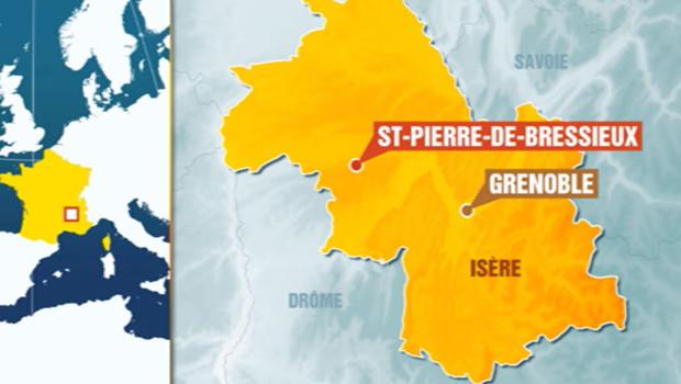 Cinq personnes ont été tuées dans le crash d'un avion près de Grenoble.