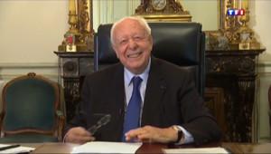 Le 20 heures du 31 mars 2014 : Municipales : Jean-Claude Gaudin ind��le - 2087.1405891723634