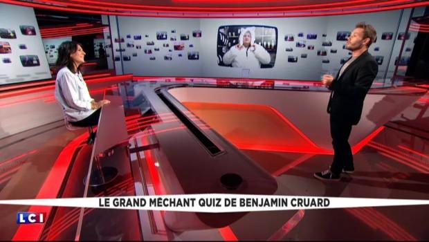 Le Grand méchant quiz de Benjamin Cruard