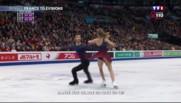 Patinage artistique : Papadakis et Cizeron à nouveau champions du monde de danse sur glace