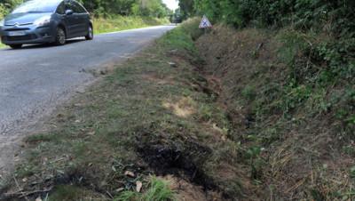 Rohan dans le Morbihan, sur les lieux de l'accident qui a coûté la vie à 4 mineurs le 2 août 2015