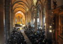 Une cérémonie protestante dans l'église Saint-Thomas de Strasbourg