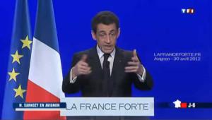 A Avignon, Sarkozy s'adresse aux électeurs du FN