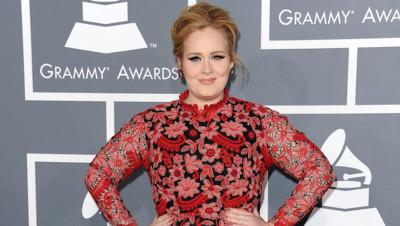 Adele lors des Grammy Awards en 2013