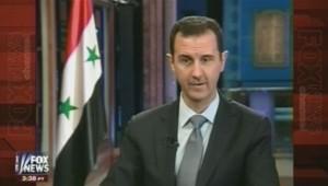 Bachar el-Assad sur Fox News, le 18/9/13