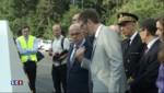 Bernard Cazeneuve inaugure un nouveau radar transportable sur l'A6