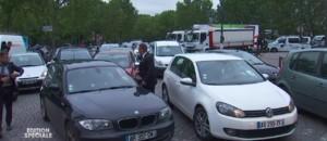 Crue de la Seine : circulation au ralenti dans Paris