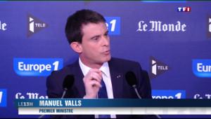 Le 13 heures du 8 mars 2015 : Manuel Valls fait front contre Marine le Pen - 458.63399999999984