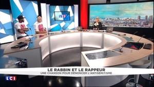 """Le rabbin et le rappeur : """"Il faut aimer la France et respecter les juifs et les musulmans"""""""