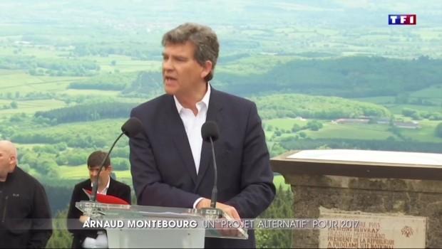 En vue de la présidentielle de 2017, Arnaud Montebourg lance son projet alternatif au Mont Beuvray
