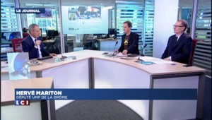 """Hervé Mariton : """"Je respecte la candidature de Nicolas Sarkozy"""""""
