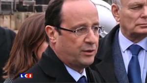 """Hollande : """"le bilan de Nicolas Sarkozy c'est 400,000 emplois industriels disparus"""""""