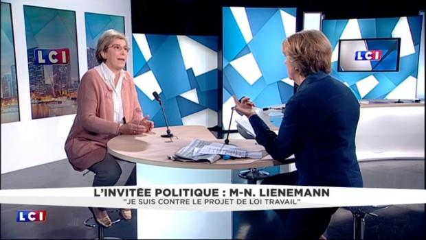 """Interdire les manifestations ? : """"Hollande ne doit pas mettre de l'huile sur le feu"""", selon Lienemann"""
