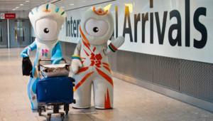 Les Gif ont été utilisés pendant les JO de Londres. Wenlock et Mandeville, les mascottes des jeux Olympiques de Londres en 2012 (illustration)